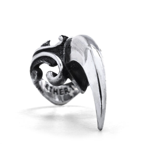 Ether Victorian Filigree Claw Ring