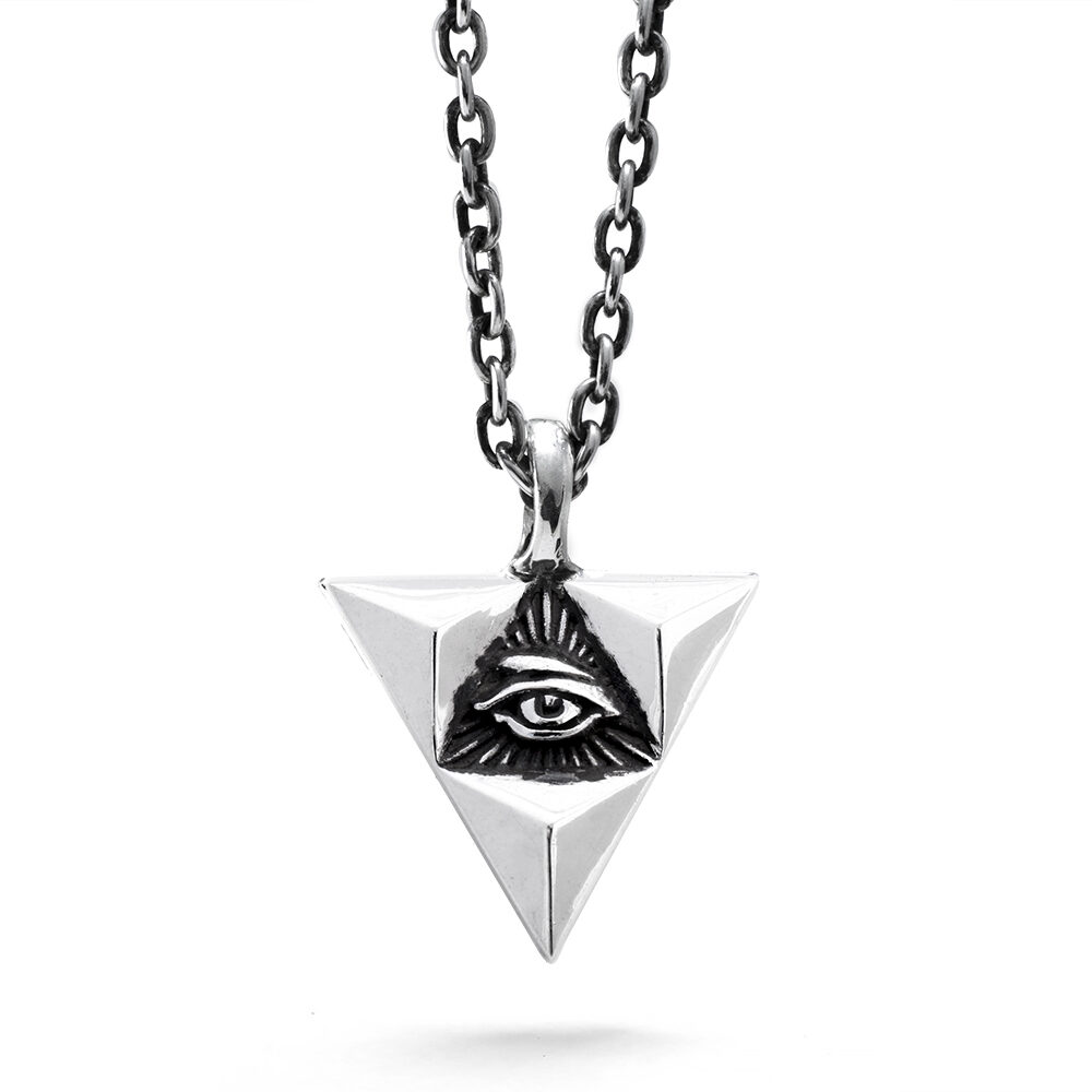 Ether11 All Seeing Eye Penant
