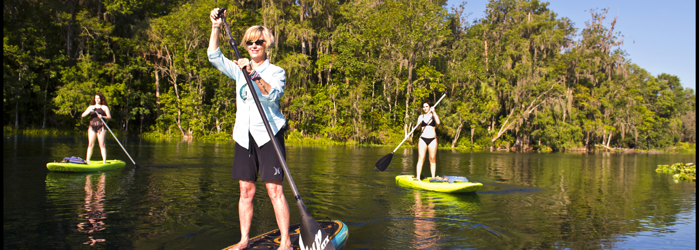Paddle SUP at Silver Springs