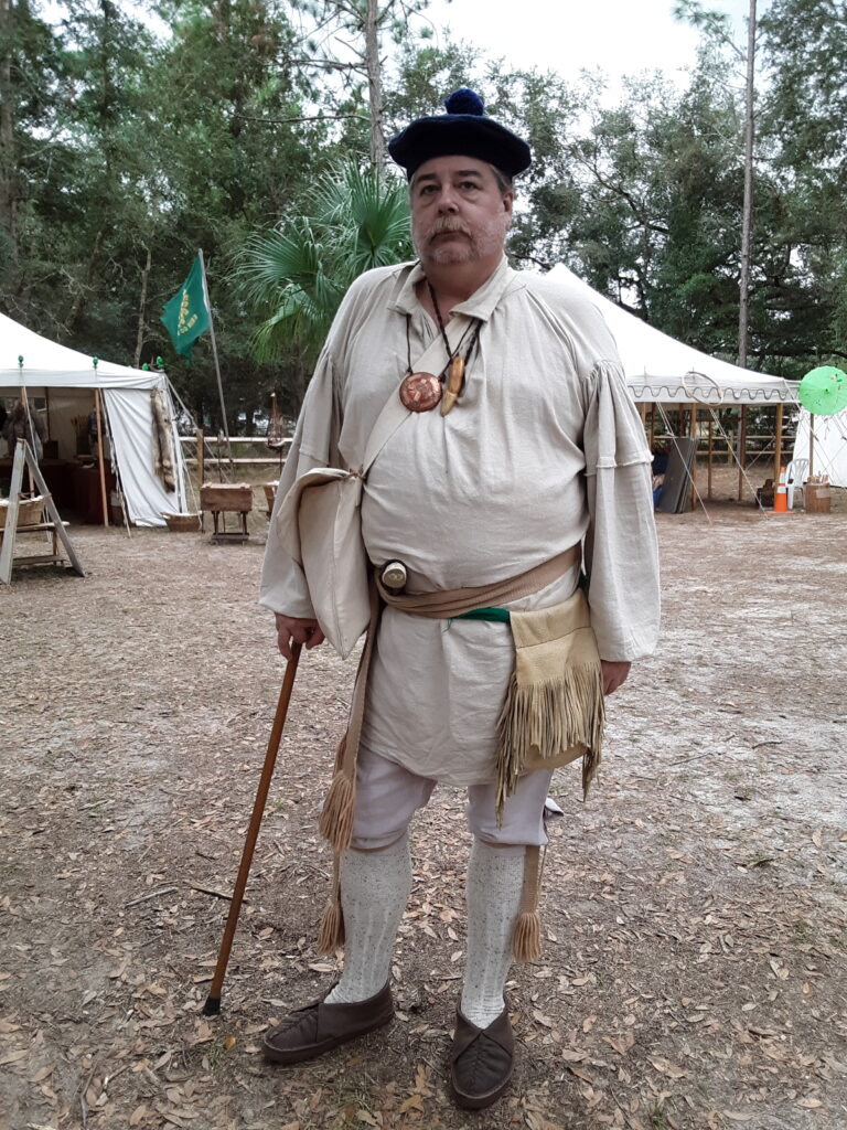 Reinactment at Cracker Village Silver Springs State Park