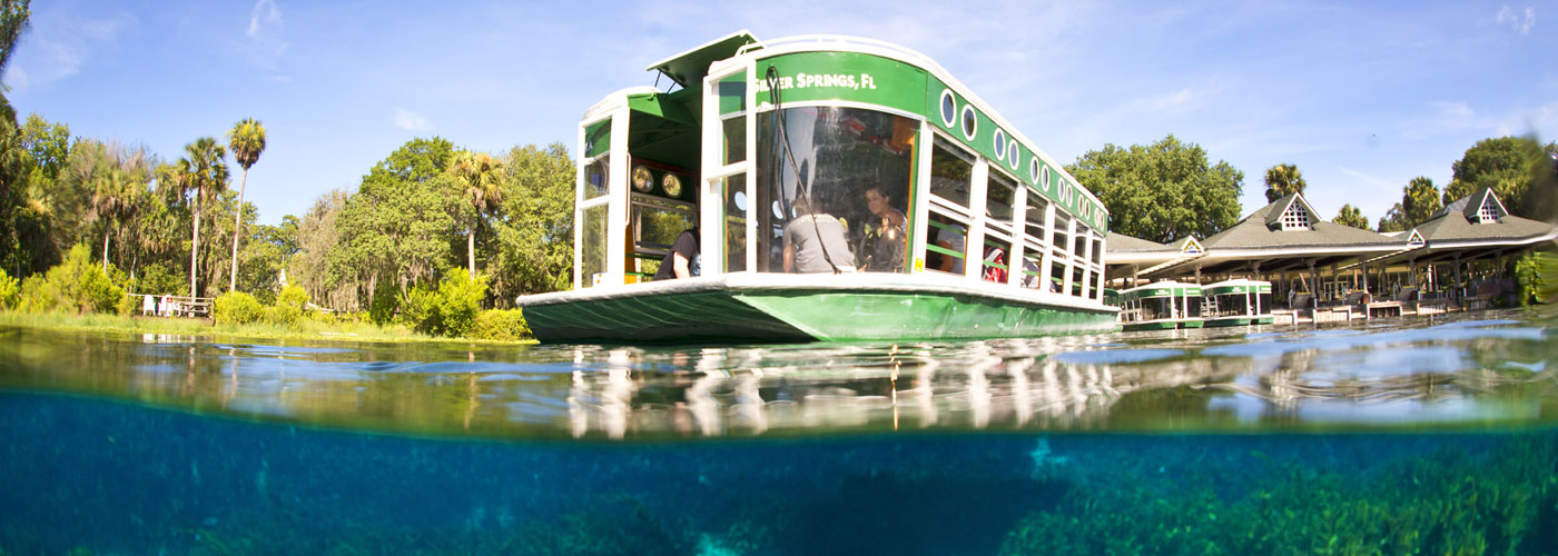 Glass Bottom Boat at Silver Springs 3