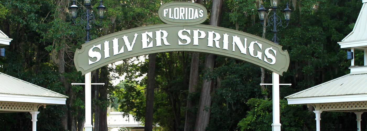 Silver Springs Entrance Sign