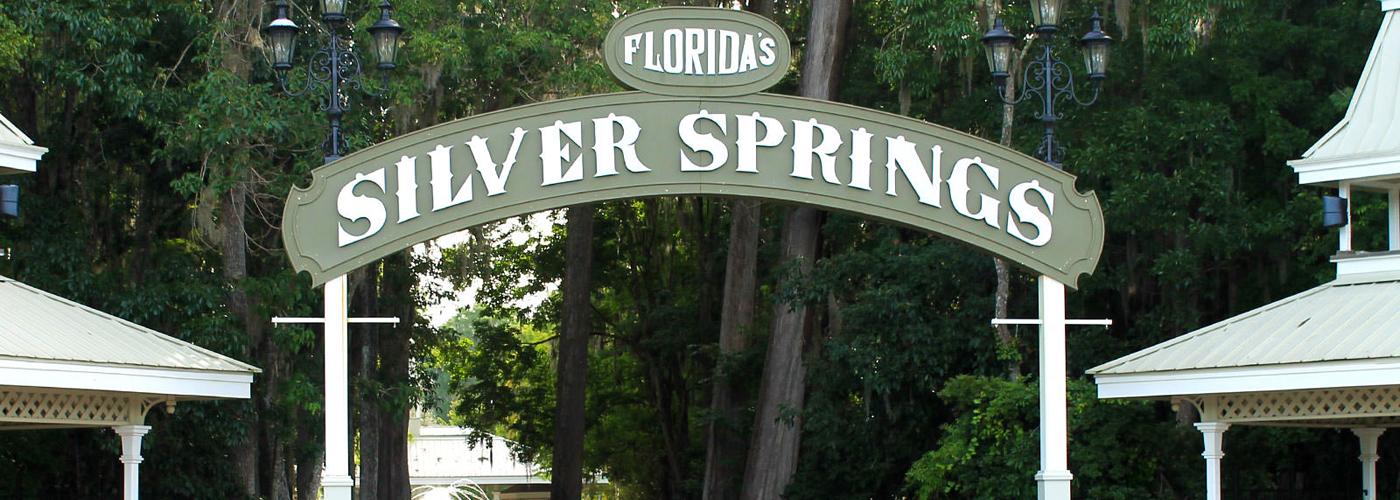 Silver Springs Entrance Sign