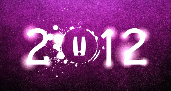 Edmonton Graphic Design | Happy New Year 2012
