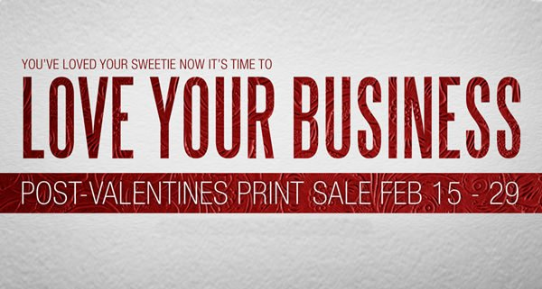 Edmonton Graphic Design | Love Your Business Sale