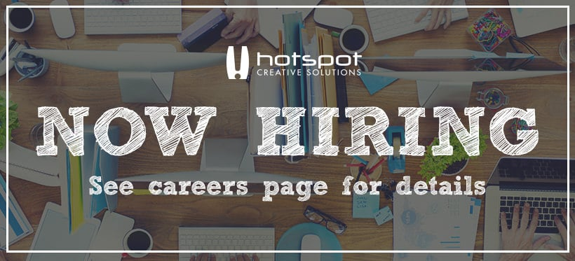 Edmonton Graphic Design | Hotspot Now Hiring