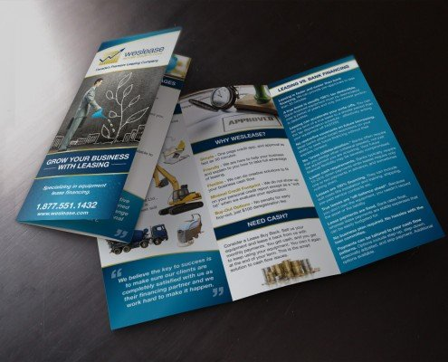 Edmonton Graphic Design | Weslease Income Growth Fund Brochure