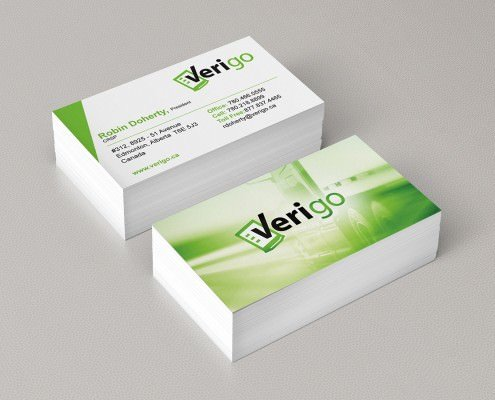 Edmonton Graphic Design | Verigo Business Card