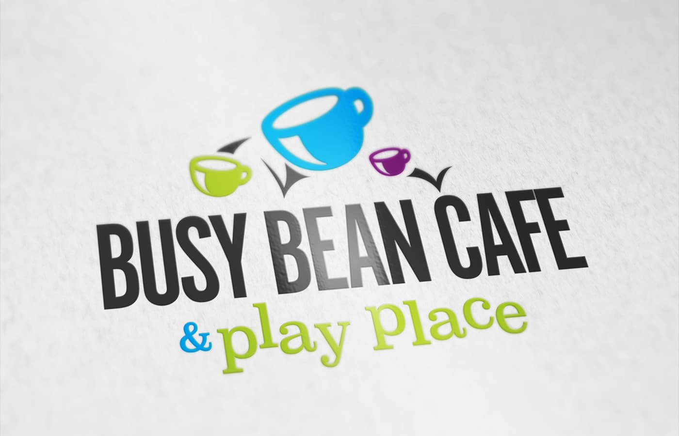 Edmonton Graphic Design | Busy Bean Cafe Logo
