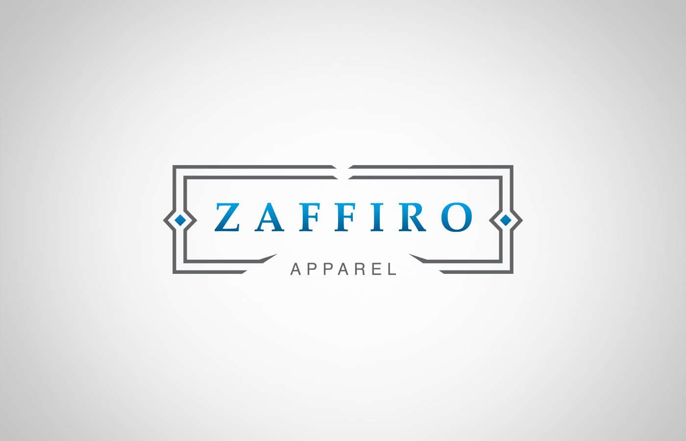 Edmonton Graphic Design | Zaffiro Apparel Logo