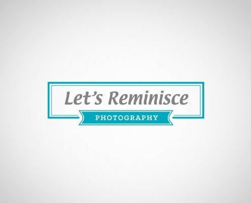 Edmonton Graphic Design | Let's Reminisce Logo