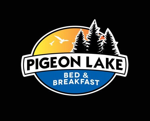 Edmonton Graphic Design | Pigeon Lake Bed and Breakfast Logo