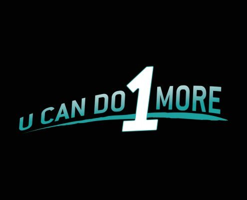 Edmonton Graphic Design | U Can Do 1 More Logo