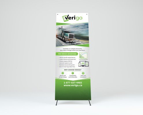 Edmonton Graphic Design | Verigo Banner
