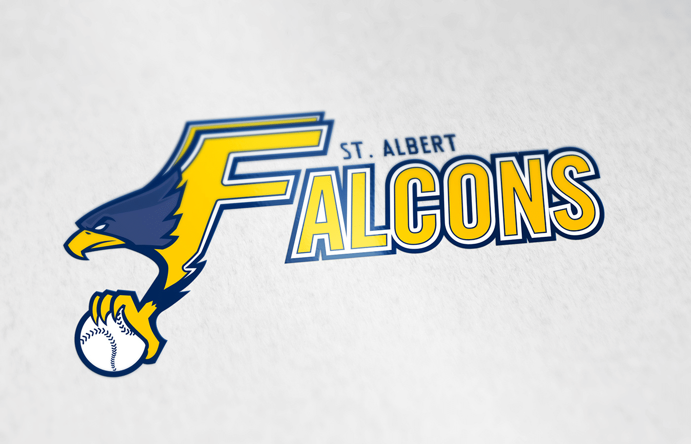 Edmonton Graphic Design | Falcons Logo