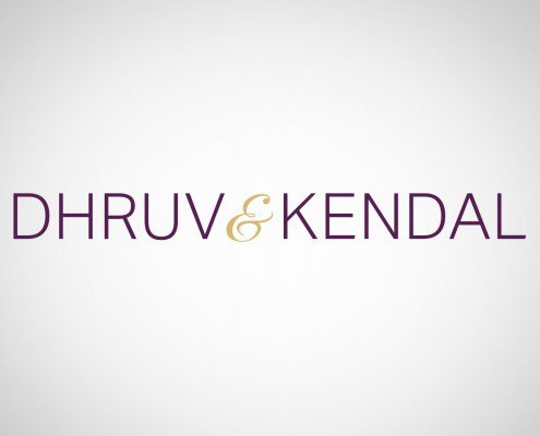 Edmonton Graphic Design | Dhruv and Kendal Logo
