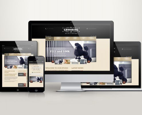 Edmonton Website Design | The Grooming Studio Website