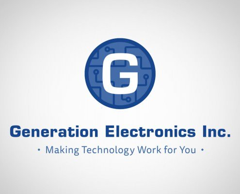 Edmonton Graphic Design | Generation Electronics Logo Concept