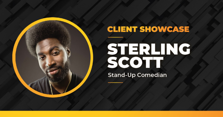 Comedian Sterling Scott