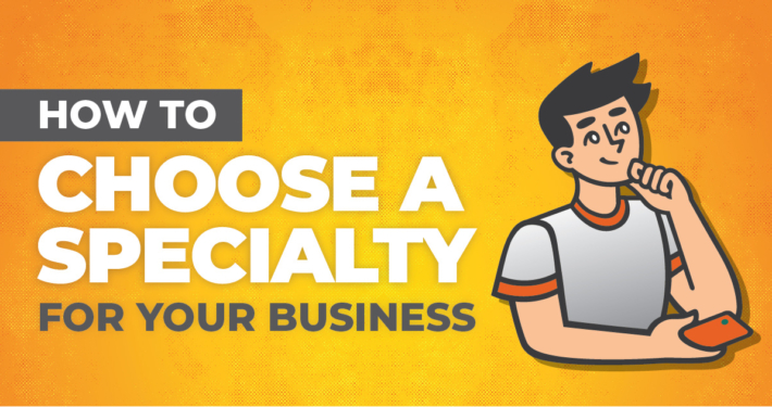 how to choose a specialty