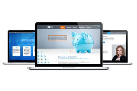 Accounting website design RMLLP