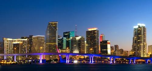 Miami-florida-skyline