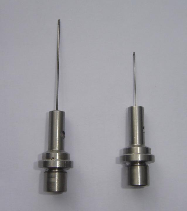 Very small diameter air probes 0.6 mm