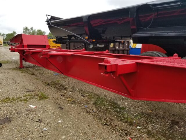 Sand Container Trailer Chassis