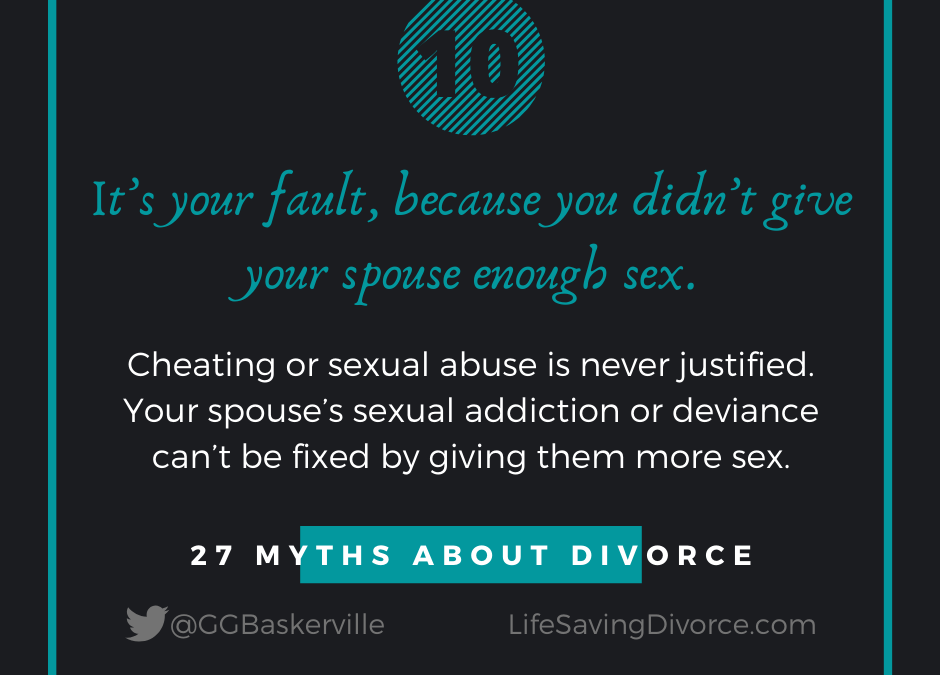Myth 10 of 27 Myths of Divorce