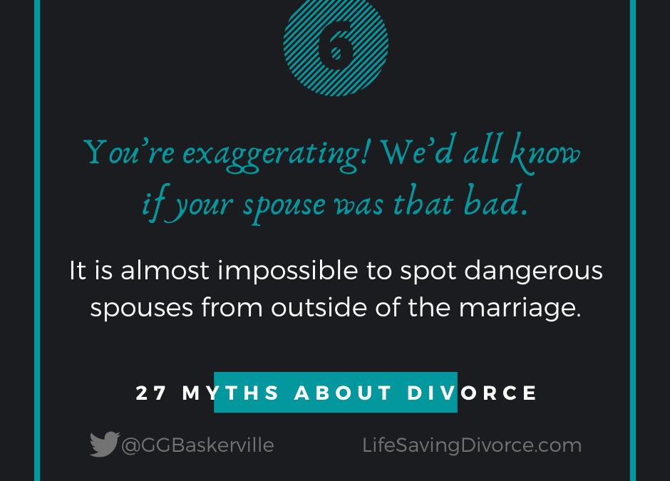 Myth 6 of 27 Myths of Divorce