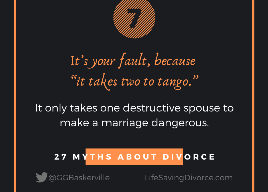 Myth 7 of 27 Myths of Divorce