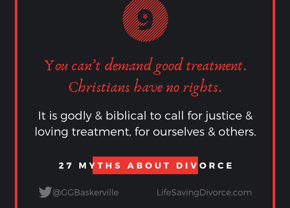 Myth 9 of 27 Myths of Divorce