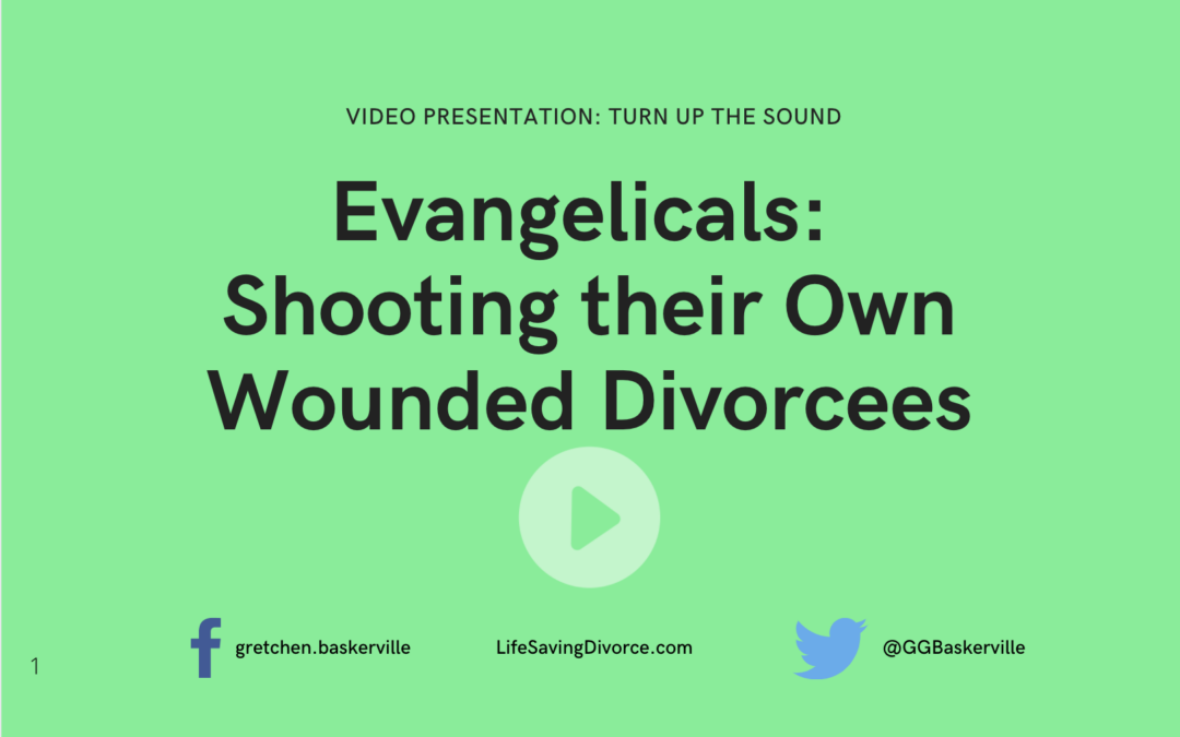 Do Evangelicals Shoot Their Own Wounded Divorcees?