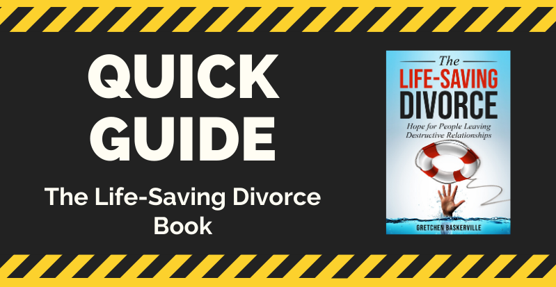 Table of Contents for The Life-Saving Divorce Book