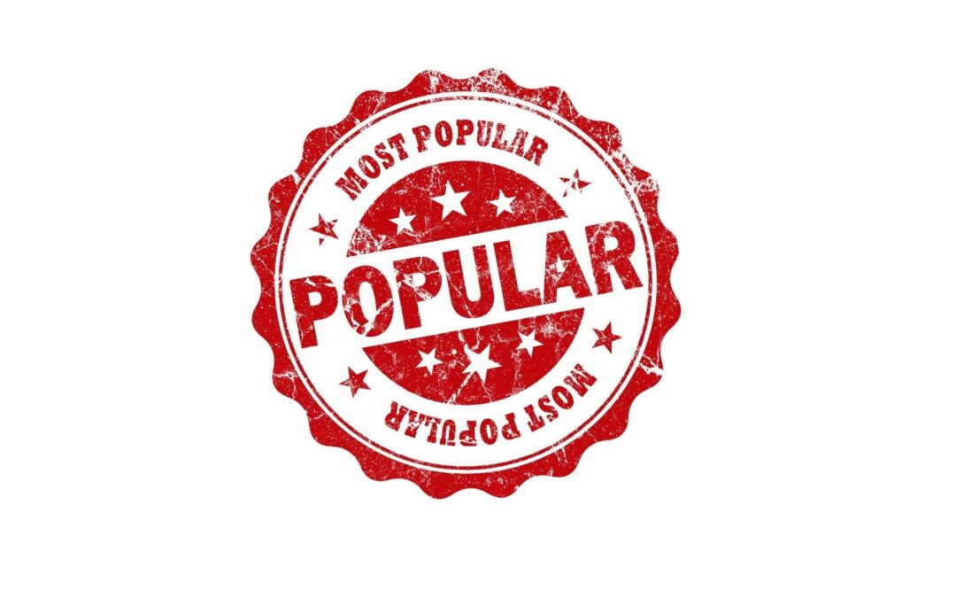 50 Most Popular Blog Posts