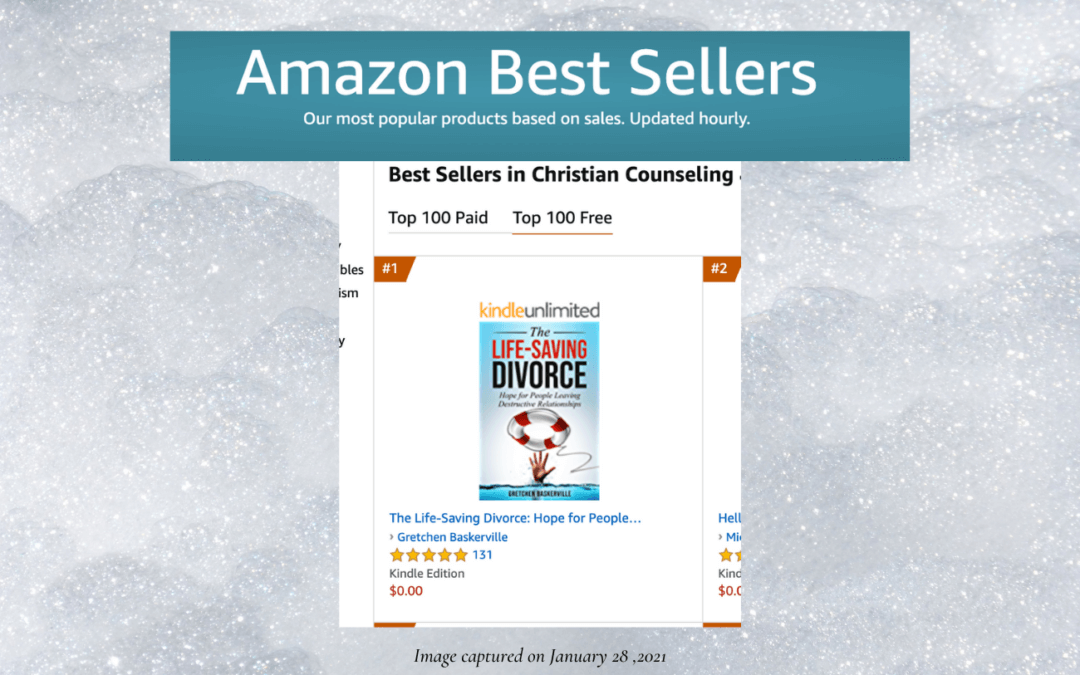 #1 Divorce Book in Amazon's Christian Counseling & Recovery Category