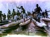 asmats-in-long-boats