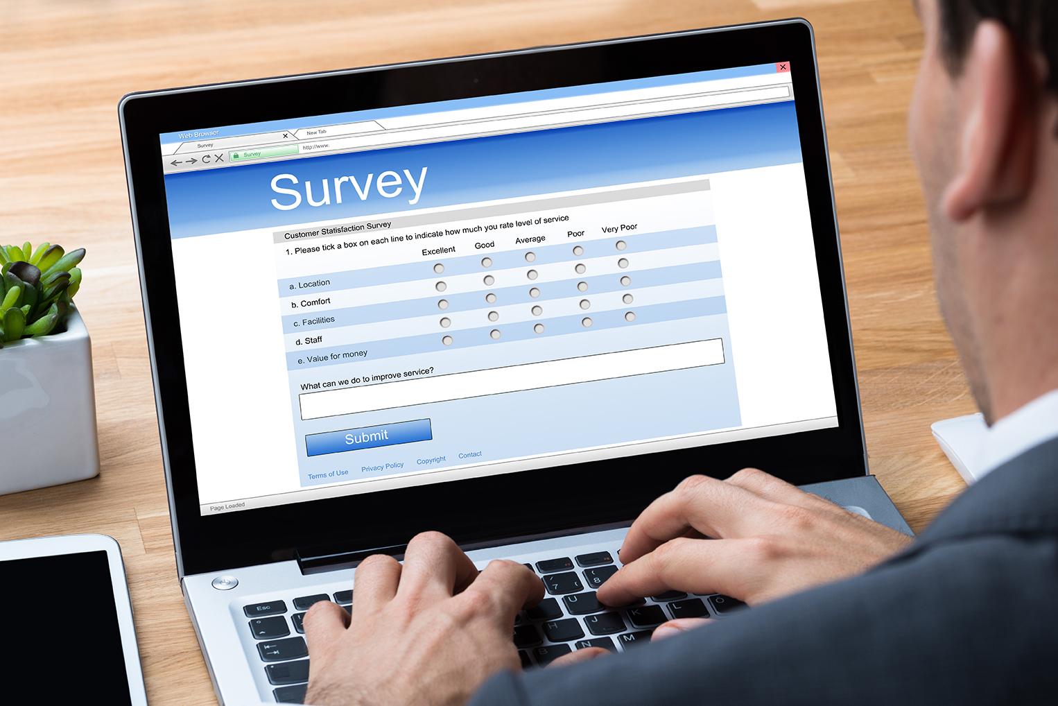 Quantitative - surveys