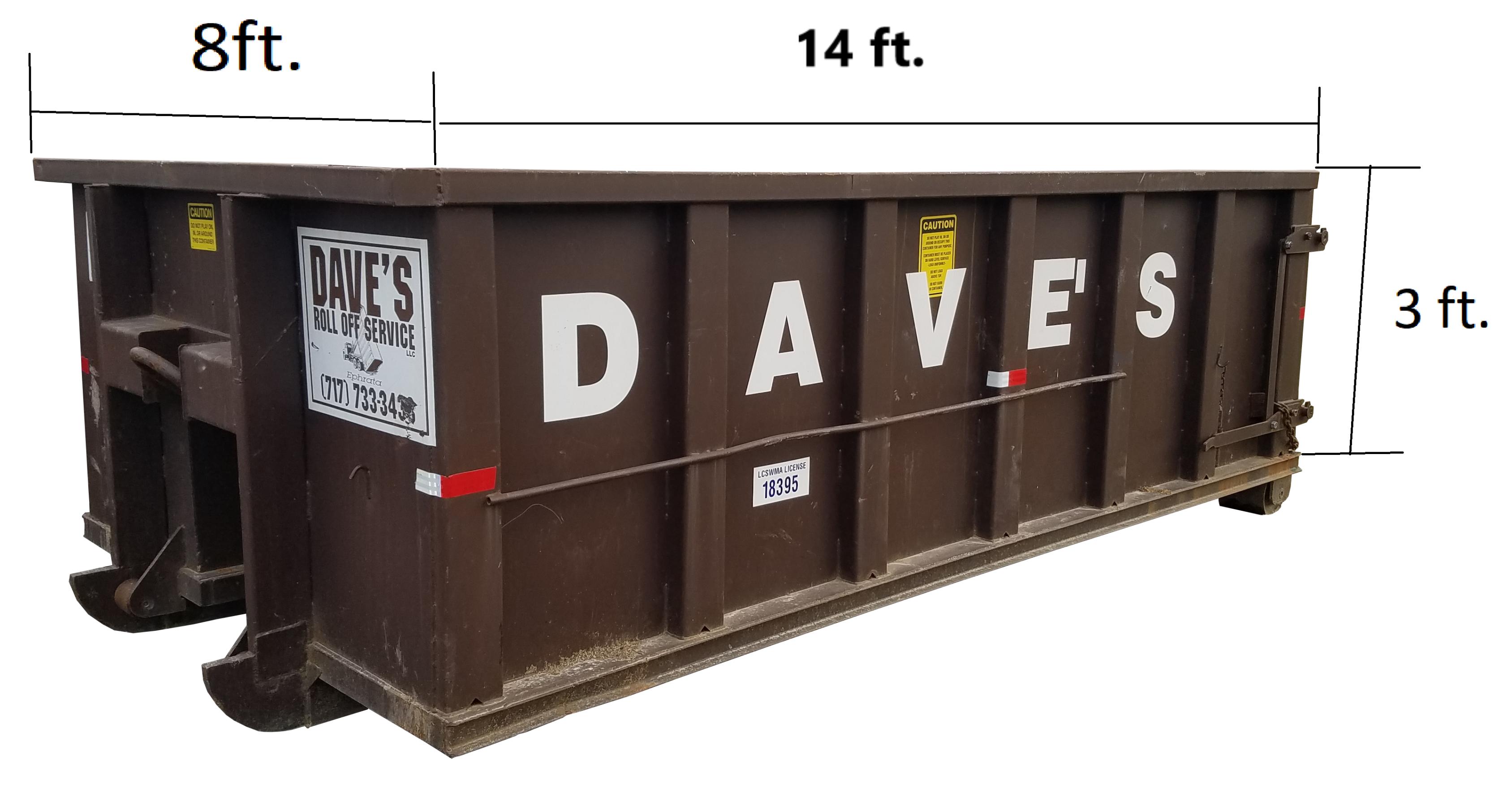 15 yd. dumpster