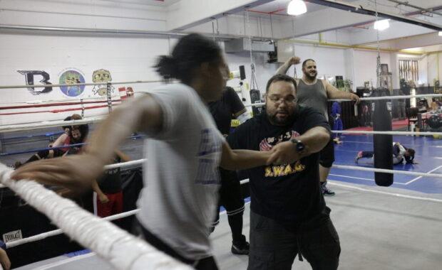 luis martial arts training