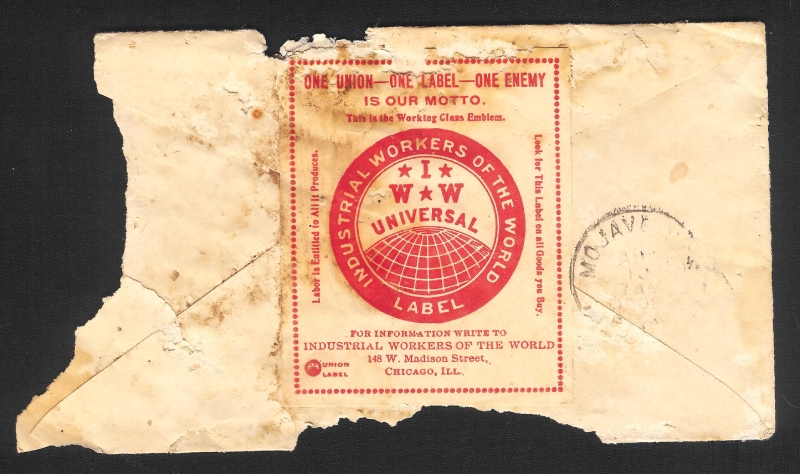 IWW stamp Image