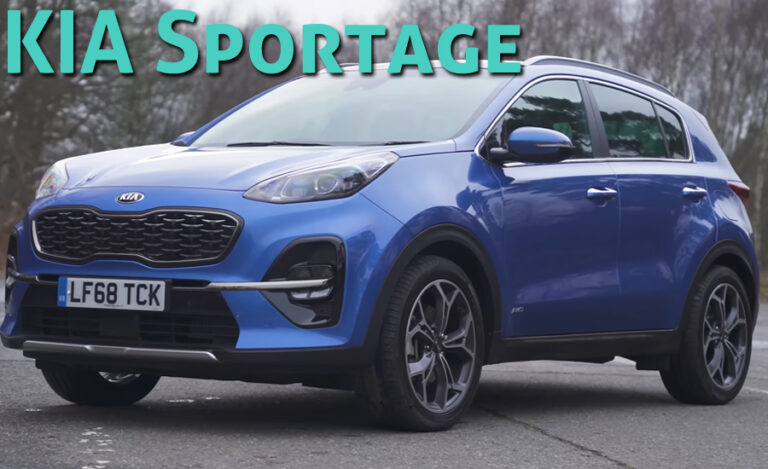 KIA Sportage: The Most So-Called SUV Coupe of 2020
