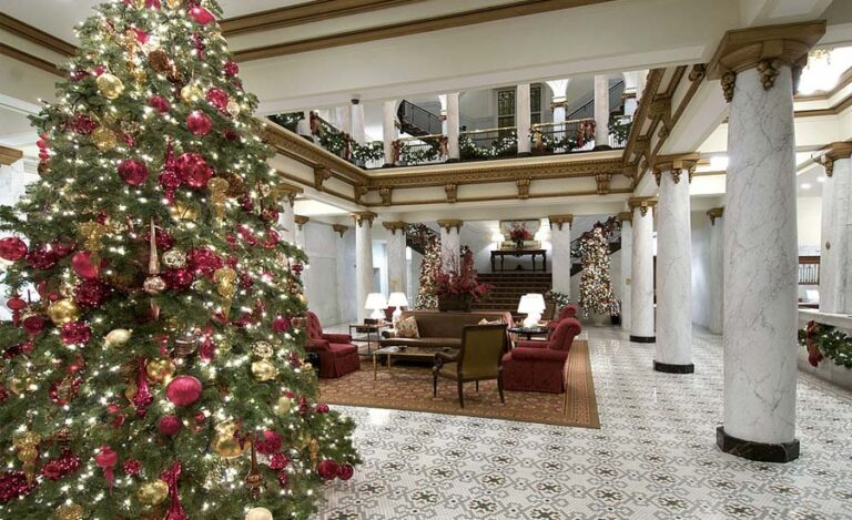 10 Best Hotels to Spend Christmas With Your Family
