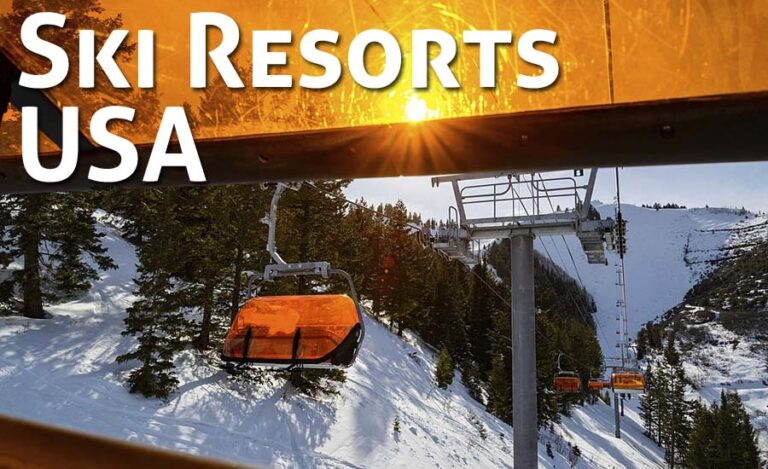Top 10 Ski Resorts in the USA for Christmas & New Year's Snow