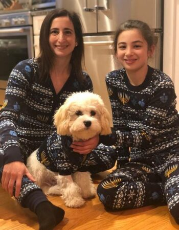 cavachon family matching pajamas