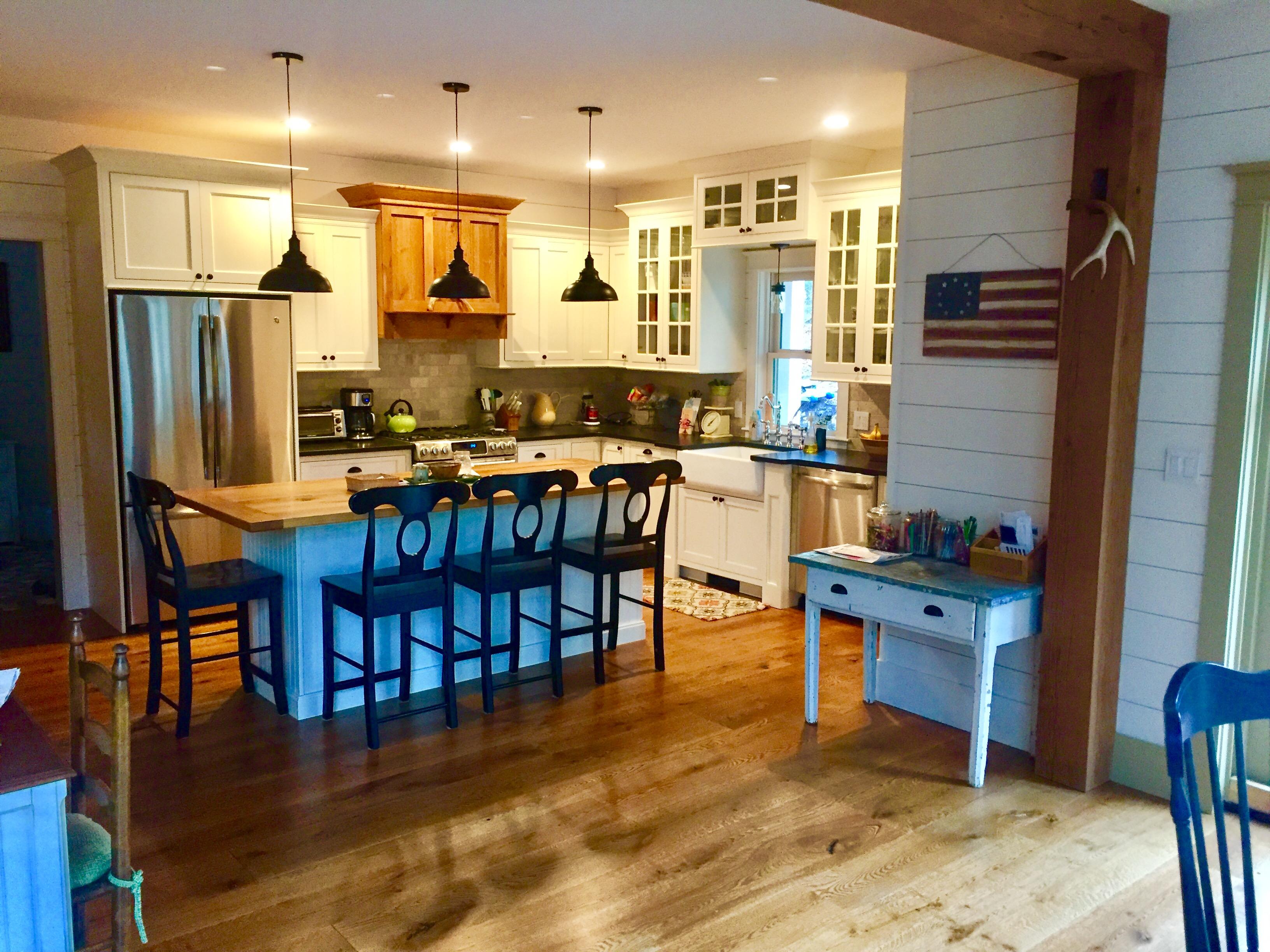 Vonderosa Wide Plank, Quarter Sawn White Oak, Character Grade Flooring