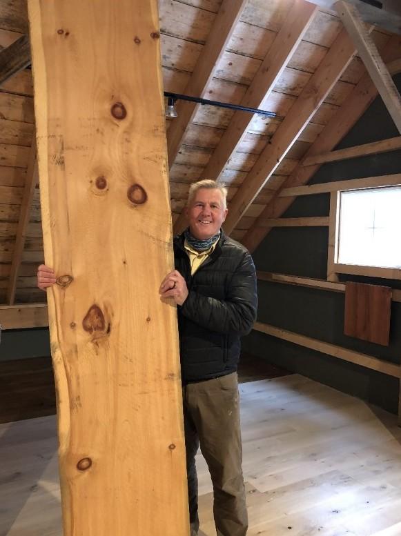 extra wide plank wood-flooring