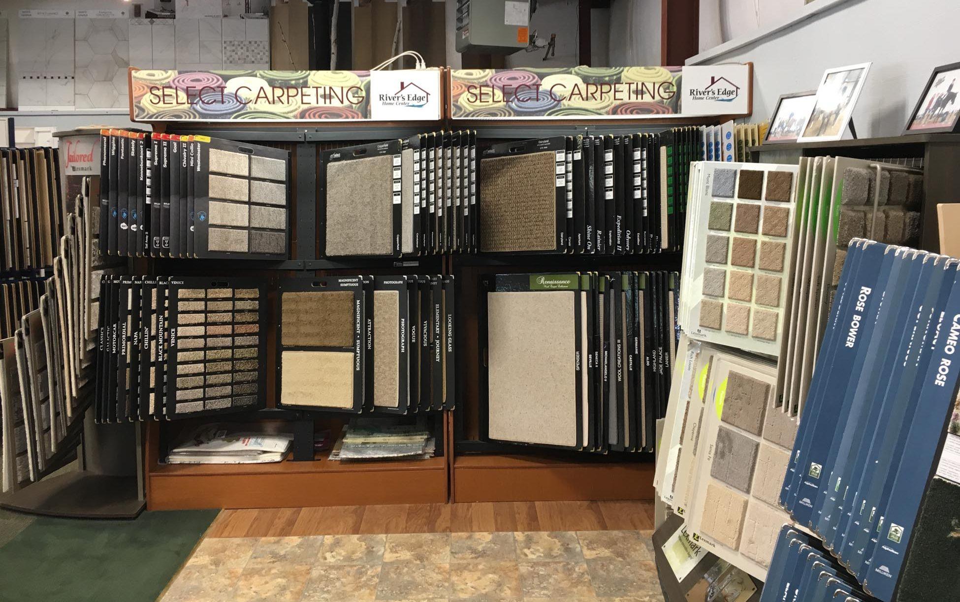 River's Edge Home Center Carpeting Store