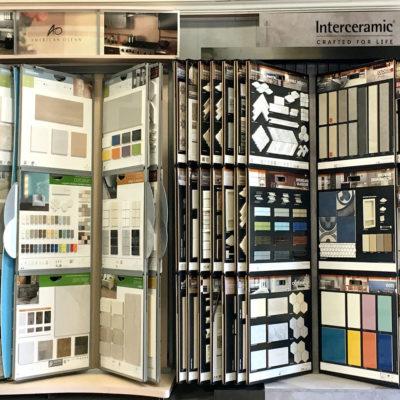 River's Edge Home Center Tile Selection
