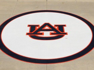 CUSTOM LOGO IN CONCRETE AUBURN AL